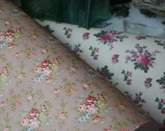 Vintage Floral Gift Wrap, Cardmaking, Scrapbooking, Altered Art, Drawer Liners, Book Covering