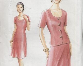 Vogue Pattern 9220--Uncut--Jacket and Dress--Sz. 12/14/16