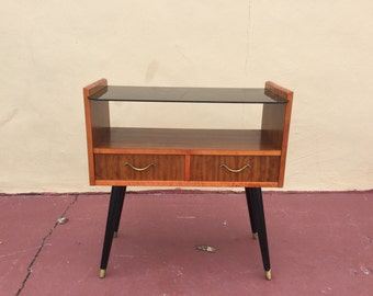Fabulous Vintage Petite side table or nightstand from Sweden