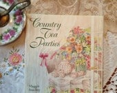 Vintage Country Tea Parties Book Ideas Recipes Menus All Occasion