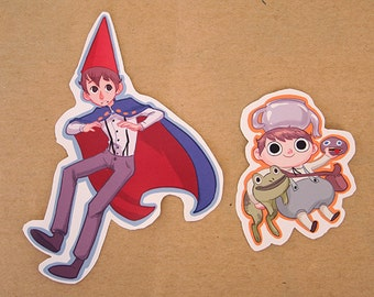 Wirt and Greg! stickers