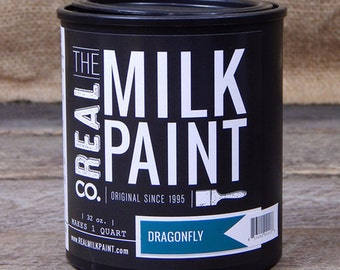 Milk Paint Dragonfly
