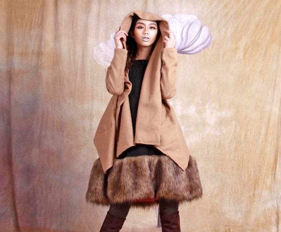 autumn jacket winter bat wool jacket puff sleeve coat beige coat wool jacket autumn coat mini jacket