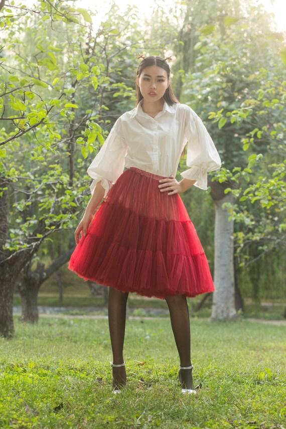 tulle skirt tutu skirt skirt maxi skirt chiffon skirt