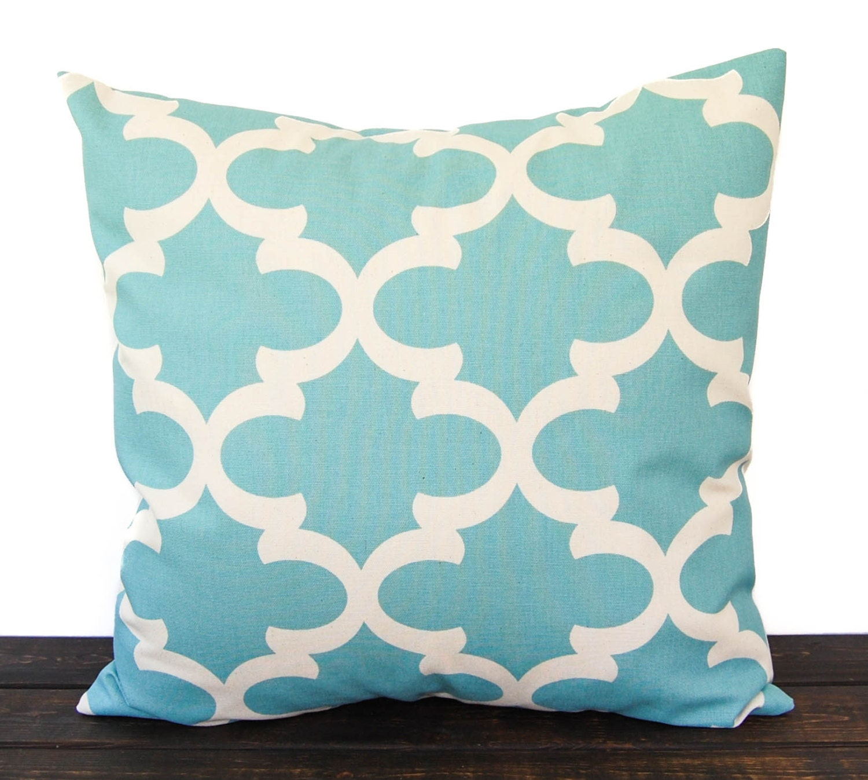 Smokey Blue Throw Pillows : Throw Pillow Pillow Cushion one pillow cover light smokey