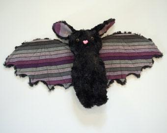 Wrap Scrap Bat Stuffed Animal Plush