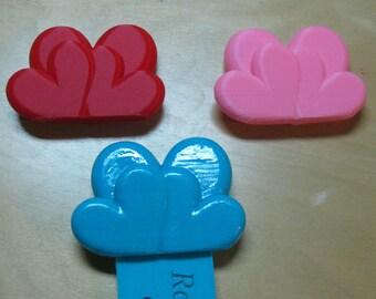 Heart Bookmark 3D Printed, Heart Booktopper