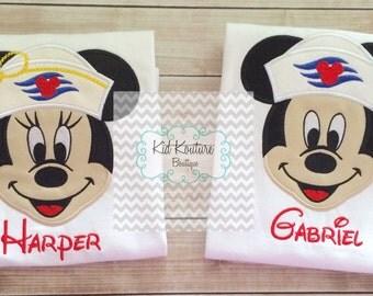 Sailor Mickey/Minnie shirt