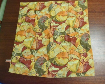 Vintage 100% Polyester Neck Scarf  Made In USA