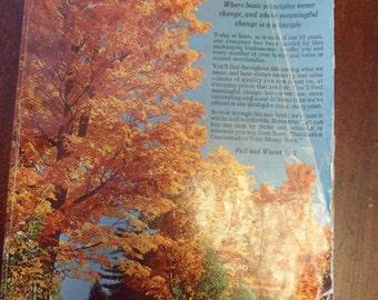 Original 1971 Sears & Robucks Fall/Winter Catalog   (T)