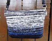 Every Day Bag / Crossbody Bag / Messenger Bag / Slouchy Bag / Shoulder Bag / Purse / Vegan / Blue Black Pink