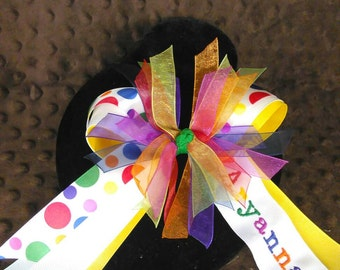 Rainbow Dots Splash Full name bow