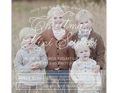 Christmas Mini Session Template, Holiday Mini Session Marketing Board, Winter Photography Marketing Template for Facebook Instagram - AD200