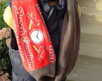 Handmade St.Louis Cardinals Scarf free shipping