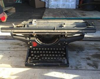 Very Old Underwood Typewriter