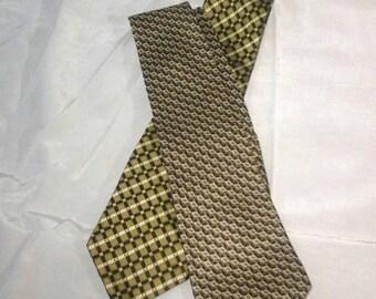 vintage silk ties George Machado Peter Thomas silk neckties