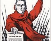 Russian, Soviet poster, USSR, Russia, Propaganda poster, Lenin, Propaganda,  Soviet propaganda, Communism, Soviet, Poster, Wall decor, 01