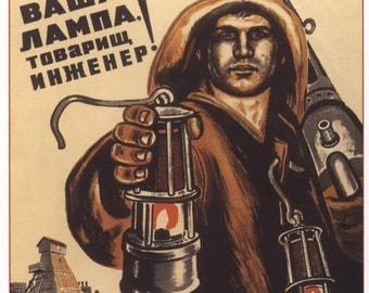 Soviet, Poster, Wall decor, Russian, Soviet poster, USSR, Russia, Propaganda poster, Lenin, Propaganda,  Soviet propaganda, Communism, 159