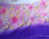 Stunning Soft & Silkie Scarf-Purple Floral-SC260