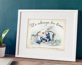 Alice in Wonderland - It's alway's time for tea - Tim Burton Alice in Wonderland