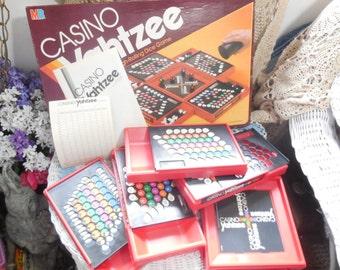 Casino Yahtzee Game 1986