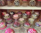 Liberty Pin Cushion Jar - beautiful, simple & useful