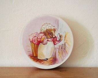 Vintage Tin - Beatrix Potter - Mrs Tiggywinkle