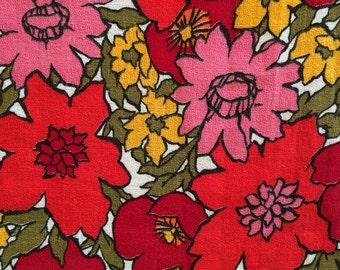 Barkcloth Fabric Etsy