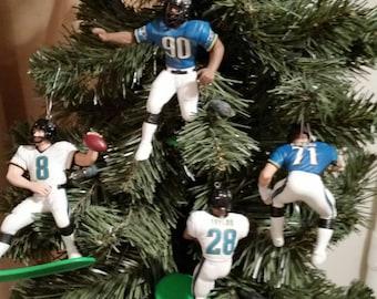 Jacksonville Jaguars football  ornaments Tony Boselli, or Mark Brunell, or Tony Brackens, or Fred Taylor