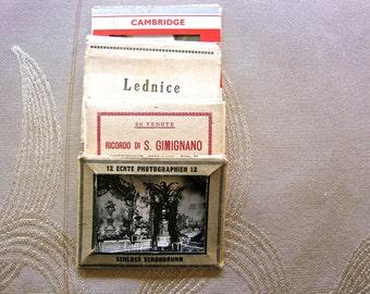 4 Antique Photo Folders, Rare, 1920s/30s - Four Antique Photo Folders, Early 20th Century