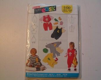 Burda Pattern super easy 5130 Infant Romper
