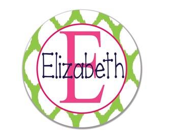 Personalized Melamine Plate, Monogrammed Plate, Birthday Gift, Easter, Christmas Gift, Baby Shower