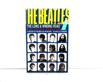"""Long and Winding Road: History of the """"Beatles"""" on Record Paperback – September 15, 1983, Antique Alchemy"""