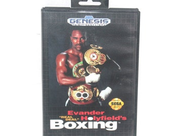 Vintage 1992 Evander Holyfield Real Deal Boxing, Sega Games, Vintage Toys, Antique Alchemy