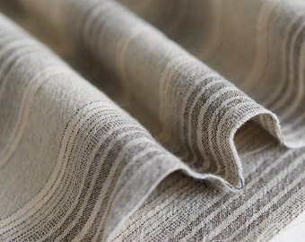 Brown Stripes Cotton Fabric - By the Yard 68267
