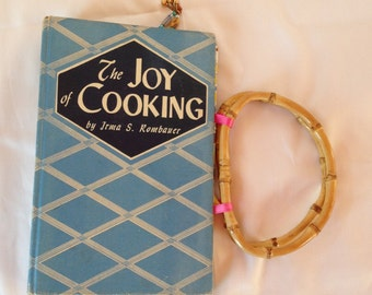 """Upcycled Book Purse """"The Joy of Cooking"""""""
