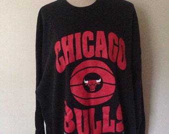Vintage Chicago Bulls NBA Basketball Sweatshirt 90s