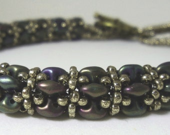 Bronze Teal Daydreamer Rope Bracelet