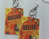 Reefer Madness earrings