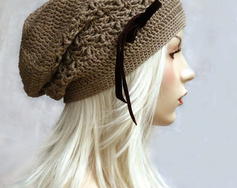Tutorial Slouchy Beanie Pattern E-book