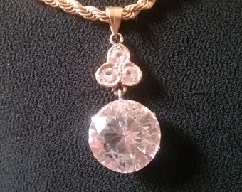Edwardian Era Pendant - Rock Crystal Pendant