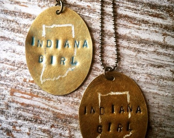 Indiana Girl Necklace