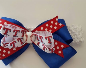 Texas Rangers Headband