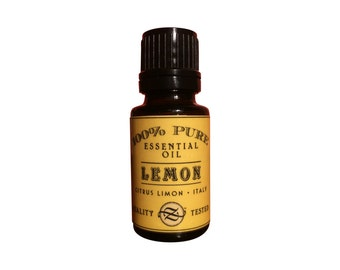 Lemon, Citrus limon, Italy  - 15 ml