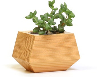 Boxcar Planters - single Douglas Fir