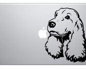 Cocker Spaniel MacBook Decal Sticker