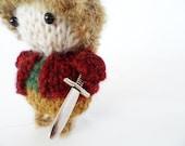 Knit Bilbo Baggins Pocket Hobbit