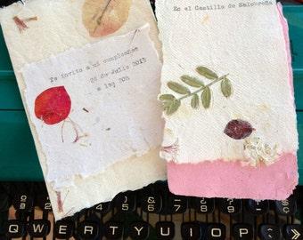 Handmade paper - party invitation