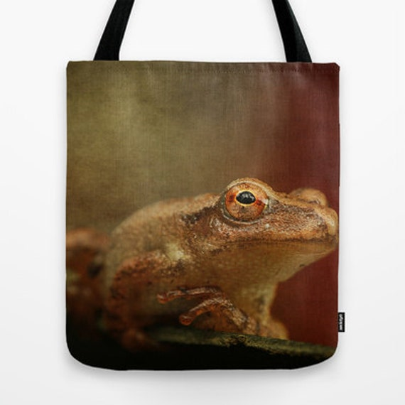Northern Spring Peeper Photo Tote Bag, Photo Tote, Tote Bag, Photography, Travel Tote