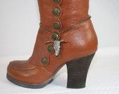 Boot Bling Rhinestone Steer Boot Bling Western Bling Boot Jewelry Boot Bracelet Cowgirl Bling